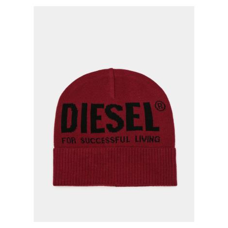 Wino damska czapka Diesel