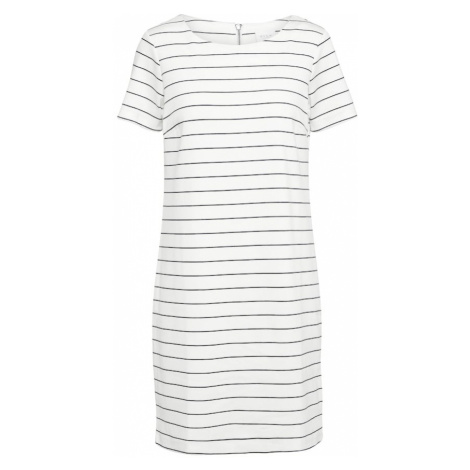 VILA Sukienka 'VITinny New' niebieski / biały