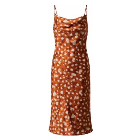Bardot Letnia sukienka pomarańczowy / żółty
