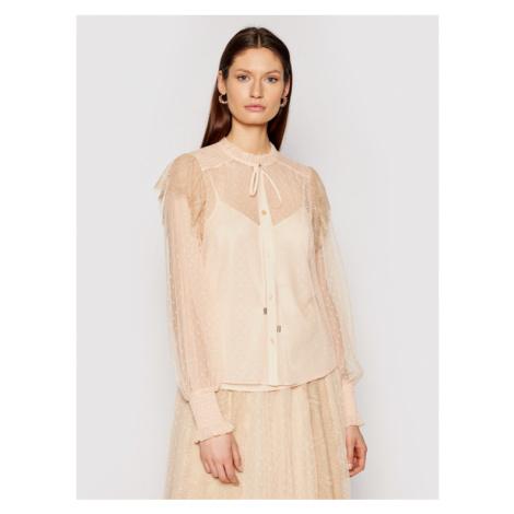 TwinSet Koszula 211MT2442 Różowy Regular Fit