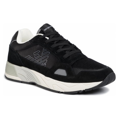 Sneakersy EMPORIO ARMANI - X4X245 XL697 B461 Black/Black
