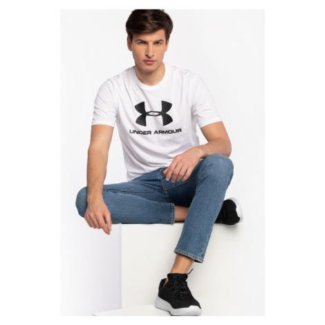 Koszulka Under Armour T-Shirt Sportstyle Logo Ss 1329590-100 White