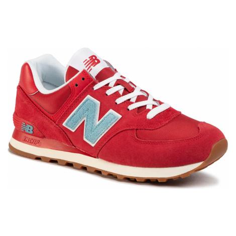 Sneakersy NEW BALANCE - ML574STR Czerwony
