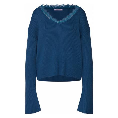 GLAMOROUS Sweter oversize 'AC2207' ciemny niebieski