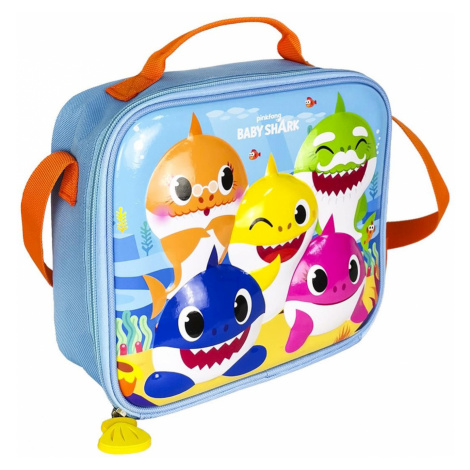 TORBA NA LUNCH 3D THERMAL LUNCHBAG BABY SHARK
