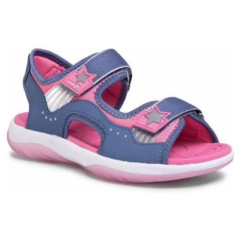 Sandały SUPERFIT - 6-06129-80 S Blau/Rosa