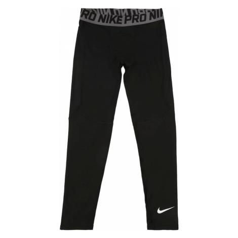 NIKE Spodnie sportowe 'B NP TGHT' czarny