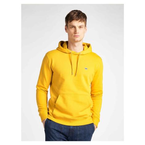 """Lee """"Plain Hoodie Golden"""" Yellow"""