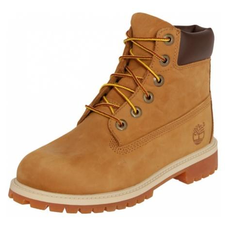 TIMBERLAND Kozaki '6-Inch Premium Boot Junior 9497R' brązowy