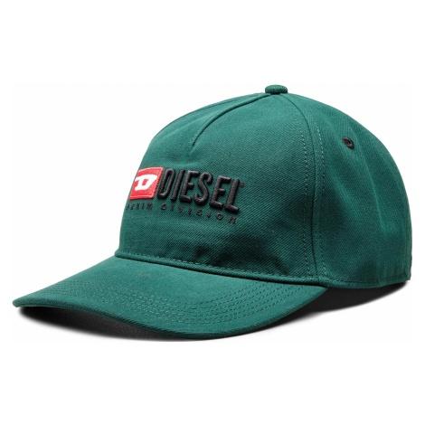 Czapka z daszkiem DIESEL - Cakerym-Max Hat 00SIIQ 0LAOI 51F Olive Night