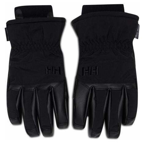 Czarne męskie rękawiczki