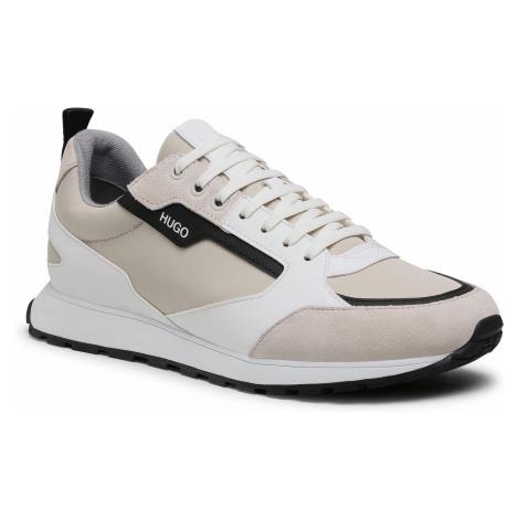 Sneakersy HUGO - Icelin 50451740 10234982 01 Open White 120 Hugo Boss