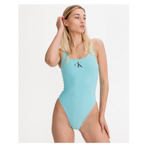 Calvin Klein Scopp Kostium kąpielowy jednoczęściowy Niebieski