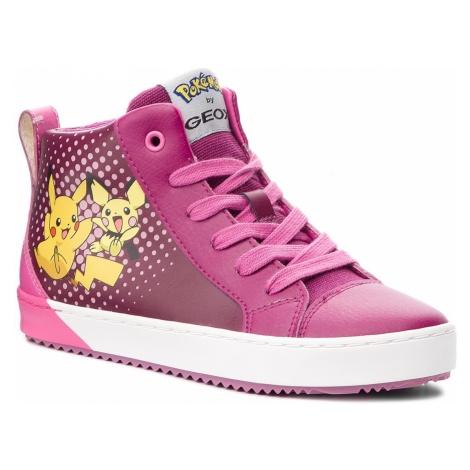 Sneakersy GEOX - J Kalispera G. G J844GG 0BCBU C8070 D Dk Raspberry