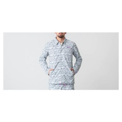 Asics Camo Jacket Glacier Grey