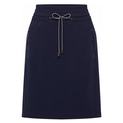 STREET ONE Spódnica 'Happy Jog' ciemny niebieski