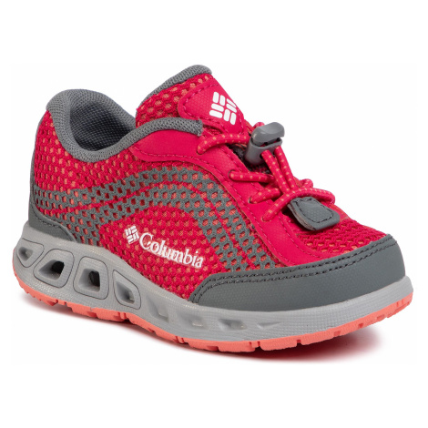 Trekkingi COLUMBIA - Childrens Drainmaker IV BC1091 Bright Rose/Hot Coral 600