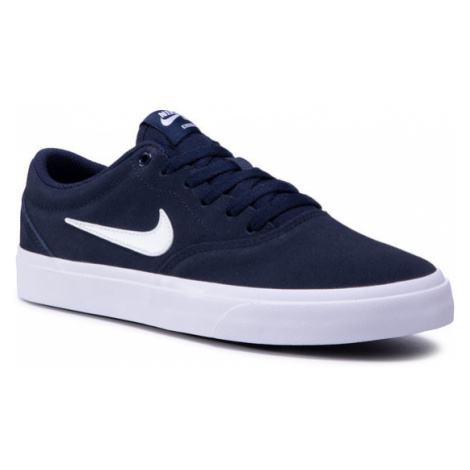 NIKE Buty Sb Charge Suede (Gs) CT3112 400 Granatowy