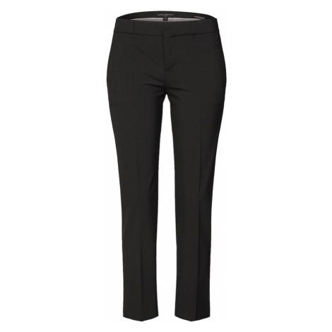 Banana Republic Spodnie w kant 'AVERY WASHABLE LWW BLACK PANT' czarny