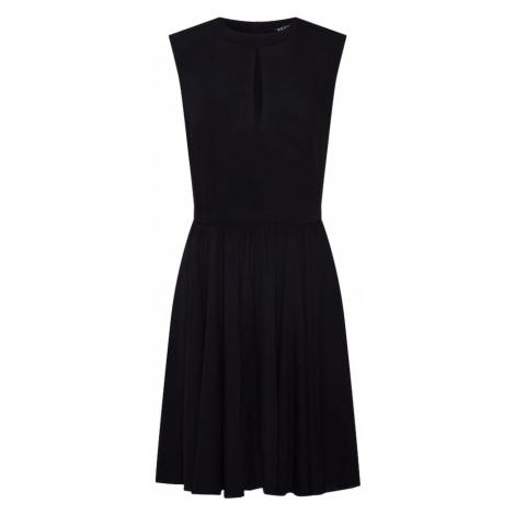 Review Sukienka 'MINI SLIT DRESS' czarny