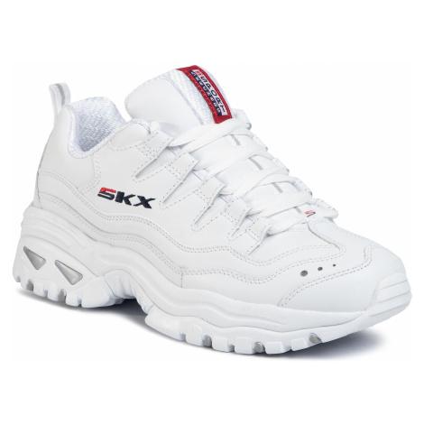 Sneakersy SKECHERS - Timeless Vision 13423/WML White/Millennium