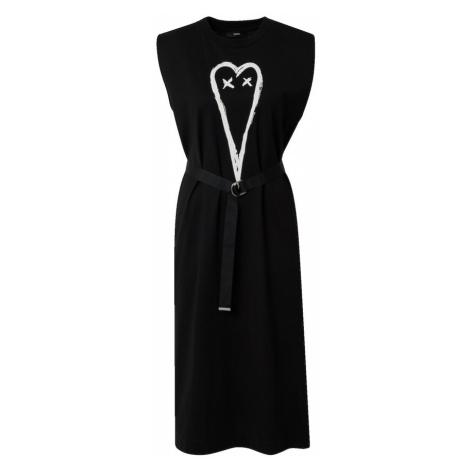 DIESEL Sukienka czarny