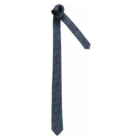 Esprit Collection Krawat 'mini floral tie' ciemny niebieski