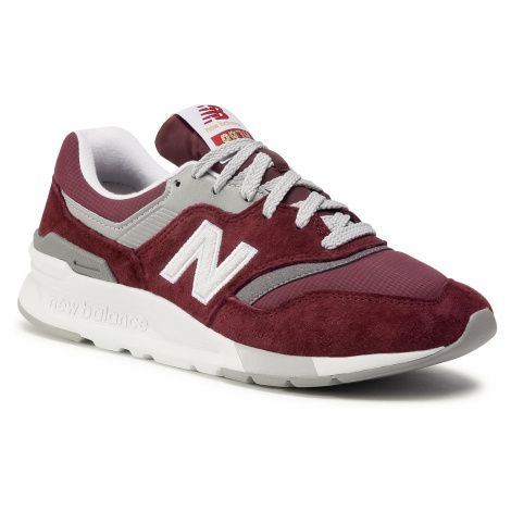 Sneakersy NEW BALANCE - CW997HBI Bordowy