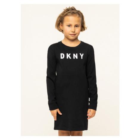 DKNY Sukienka codzienna D32716 Czarny Regular Fit