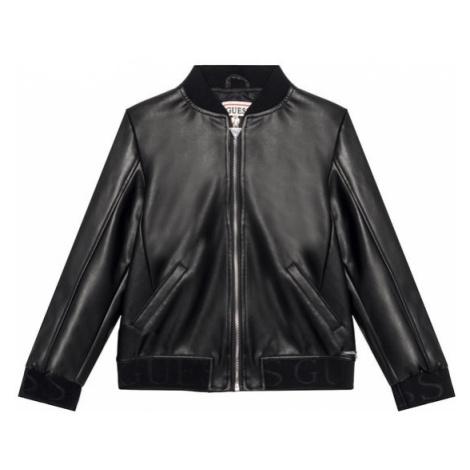Czarne dziewczęce kurtki, płaszcze i kożuchy