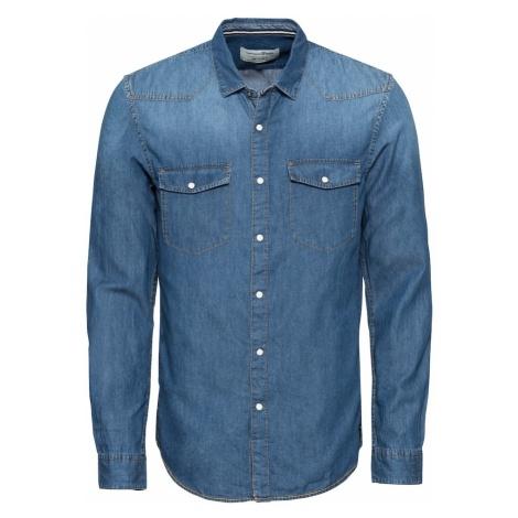 TOM TAILOR DENIM Koszula niebieski denim