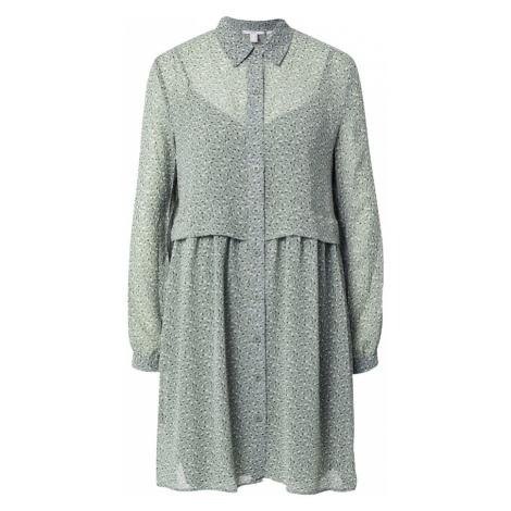 EDC BY ESPRIT Sukienka koszulowa khaki