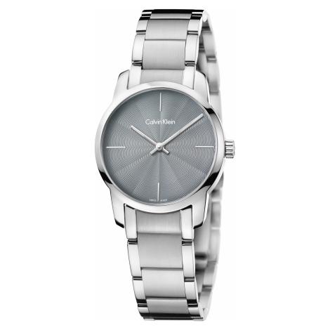 Calvin Klein City Zegarek Srebrny