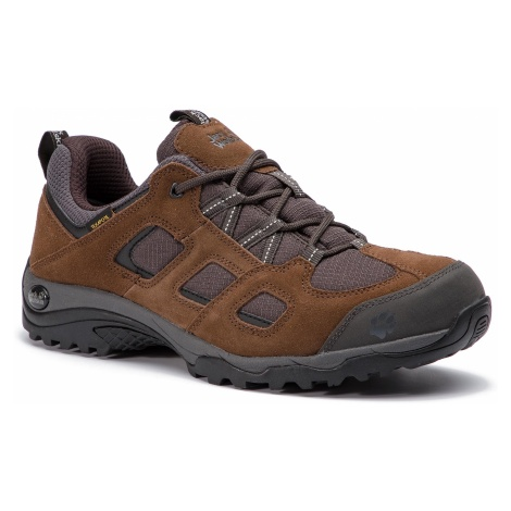 Trekkingi JACK WOLFSKIN - Vojo Hike 2 Texapore Low M 4032361 Dark Wood