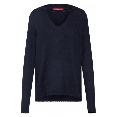 S.Oliver RED LABEL Sweter granatowy