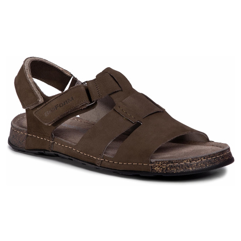 Sandały NIK - 06-0359-02-6-18-03 Oliwkowy