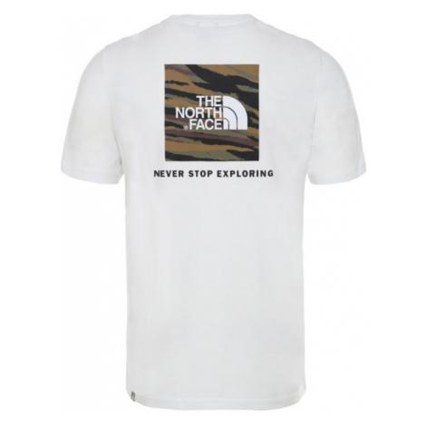 The North Face T-Shirt Redbox NF0A2TX2JK8 Biały Regular Fit