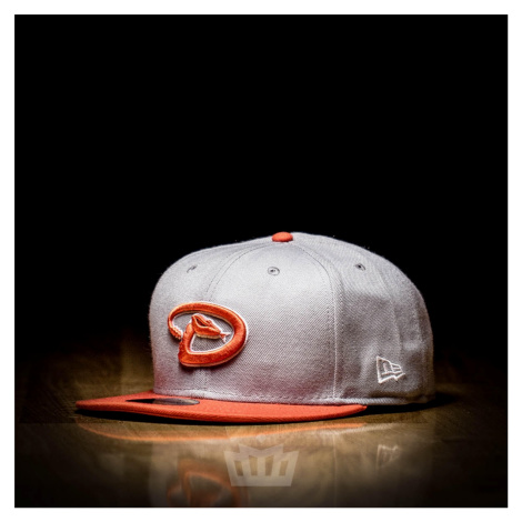 New Era 59fifty Arizona Diamondbacks Full Cap Grey Orange