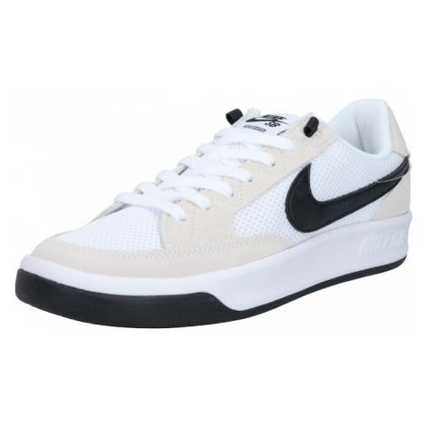 Nike SB Trampki niskie czarny / biały / beżowy