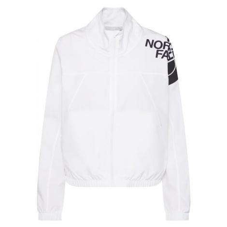 THE NORTH FACE Kurtka przejściowa 'Women's Train N Logo Wind Jacket - Eu' biały