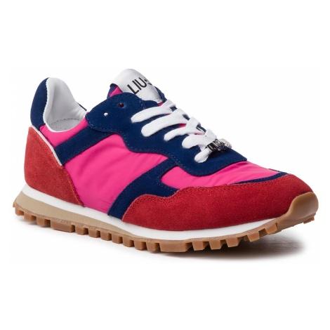 Sneakersy LIU JO - Alexa BXX049 PX003 Rouge/Cobalt S17B3
