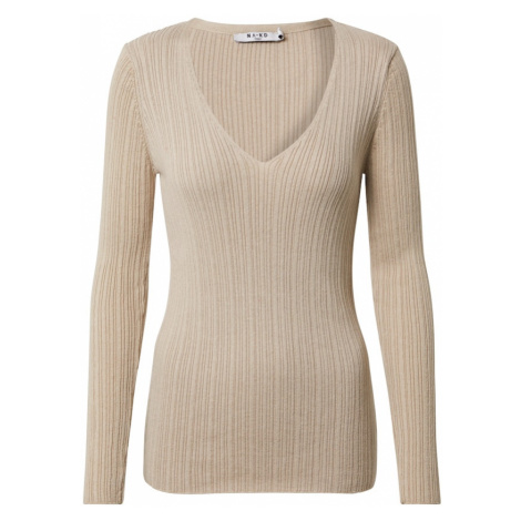 NA-KD Sweter jasny beż
