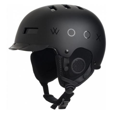 Kask narciarski / snowboardowy z regulacją | Czarny Brainsaver Preto Woox