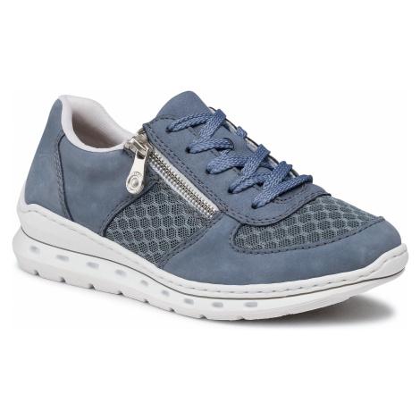 Sneakersy RIEKER - L2230-14 Blau