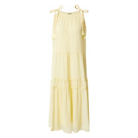 VERO MODA Sukienka 'PENELOPE' pastelowo-żółty
