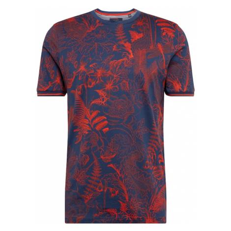 Ted Baker Koszulka 'tresure' czerwony / granatowy