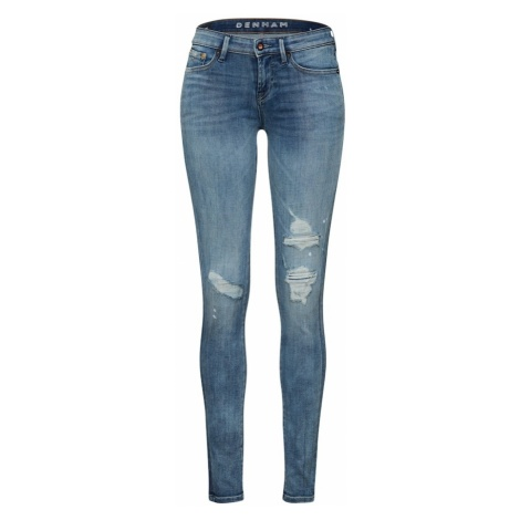 DENHAM Jeansy 'Sharp' niebieski denim