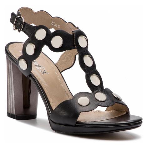 Sandały ANN MEX - 0192 01S Czarny