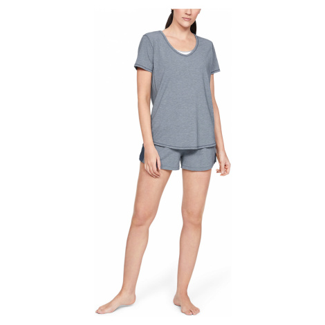 Under Armour Athlete Recovery Sleepwear™ Koszulka do spania Niebieski Szary