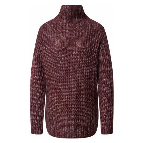 Kaffe Sweter różowy / bordowy / rdzawoczerwony